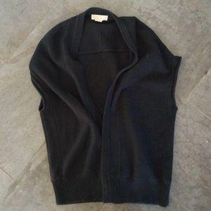 Michael Kors black sweater shrug size M